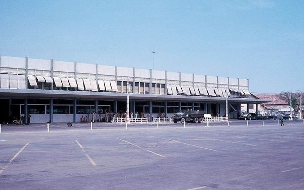 Nhà ga quốc nội sân bay Tân Sơn Nhất.