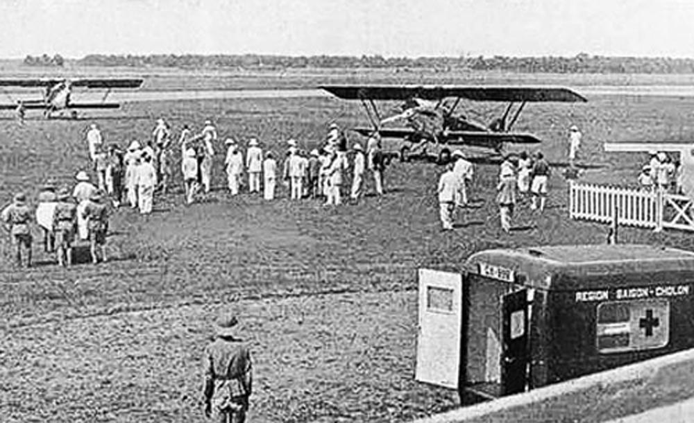 Sân bay Tân Sơn Nhất năm 1938