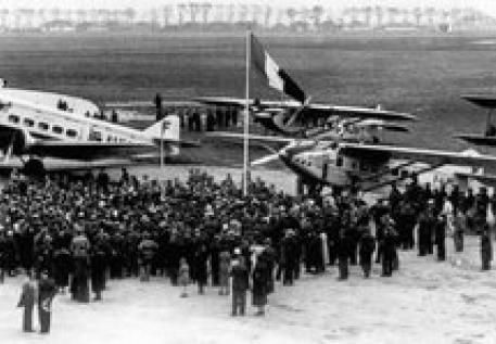 Máy bay Air France của Pháp đầu thế kỷ 20. Ảnh: airfranceklm.com.